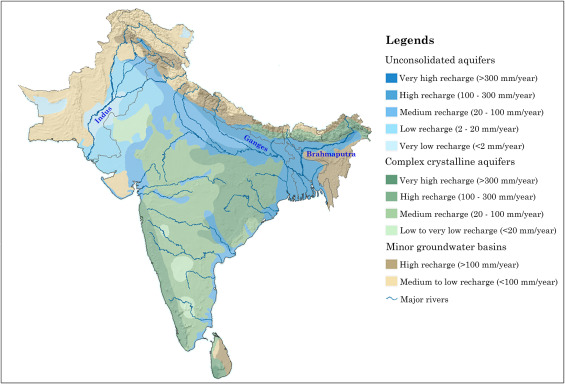 Groundwater systems of the Indian SubContinent  ScienceDirect