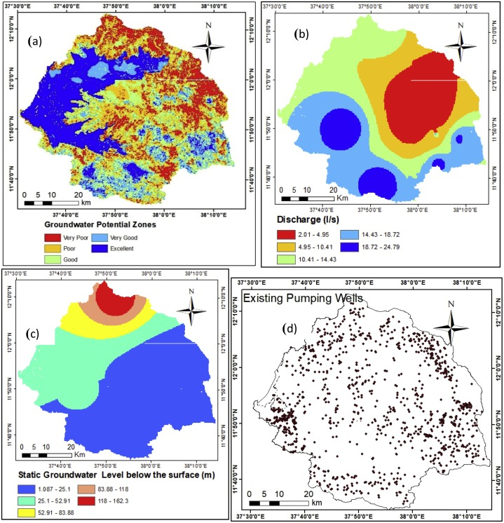 Groundwater potential assessment using GIS and remote