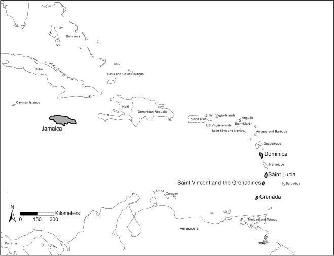 Geographies of renewable energy transition in the Caribbean