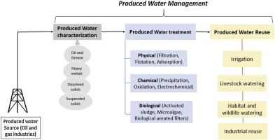 Produced water characteristics, treatment and reuse: A