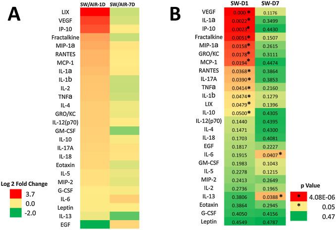Aerosol characterization and pulmonary responses in rats