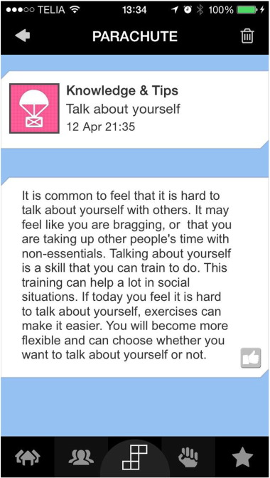 The challenger app for social anxiety disorder: New advances