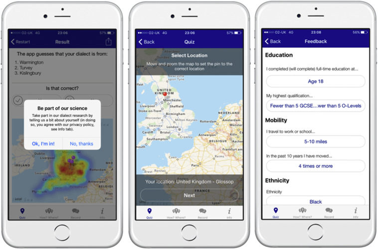 The English Dialects App: The creation of a crowdsourced