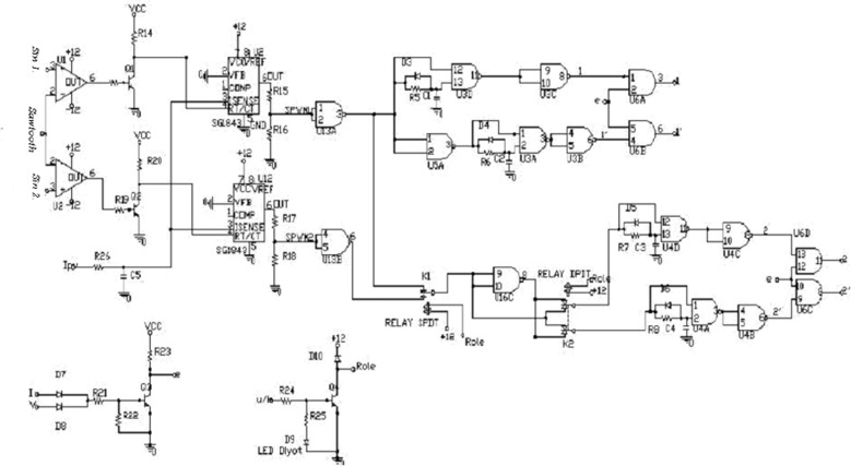 Design of a single-phase SPWM inverter application with PIC