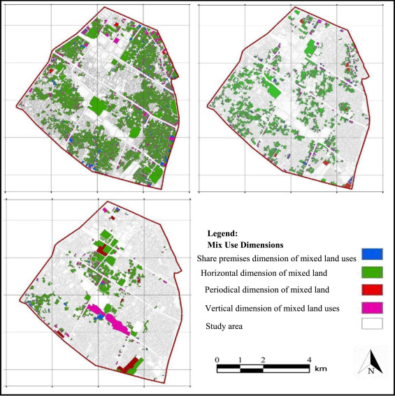 Does urban mixed use development approach explain spatial