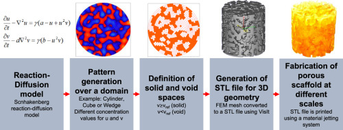 Geometric and mechanical properties evaluation of scaffolds for bone