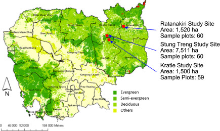 Assessment Of Carbon Stocks Of Semi Evergreen Forests In Cambodia