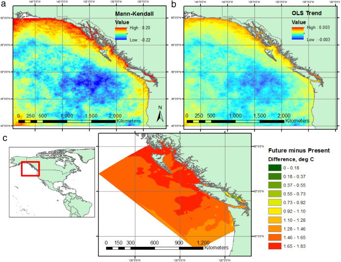 Identifying potential marine climate change refugia: A case