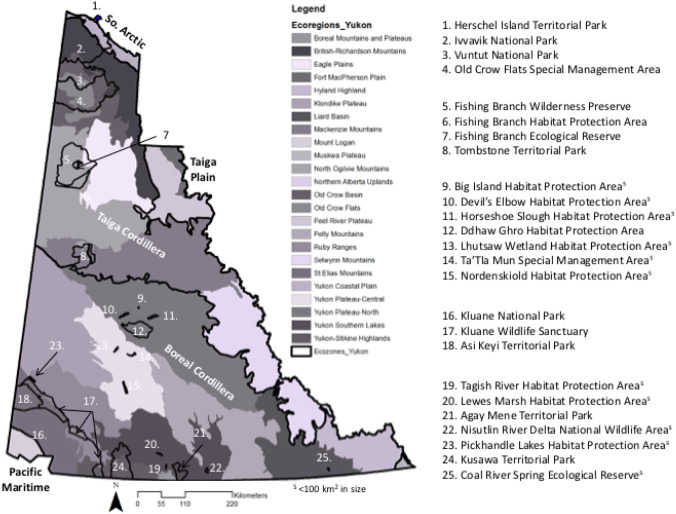 "Examining climate-biome (""cliome"") shifts for Yukon and its"