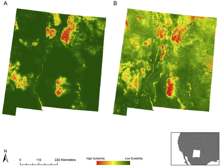Species distribution models for a migratory bird based on citizen