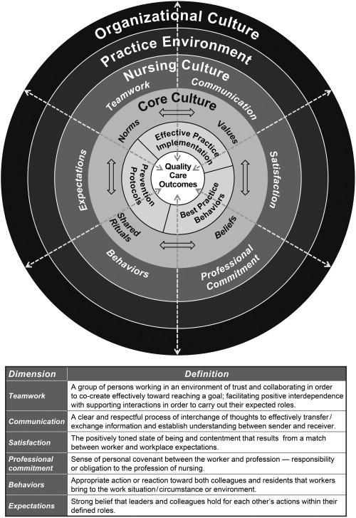 Nursing culture assessment tool (NCAT): Empirical validation