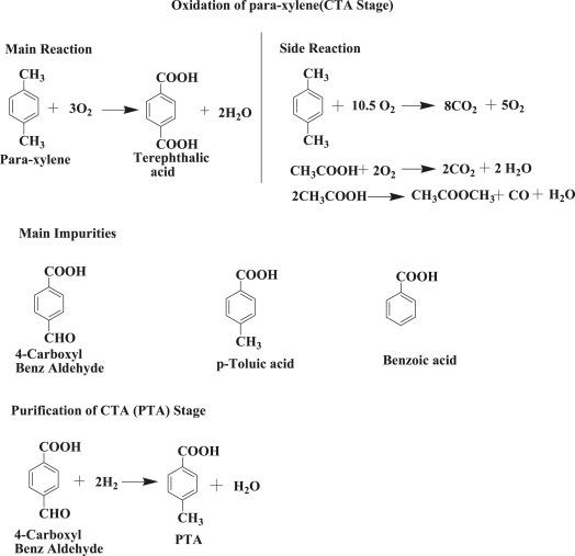 Treatment of toxic pollutants of purified terephthalic acid