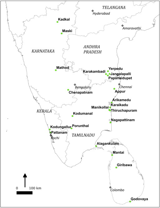 Glass beads and glass production in early South India