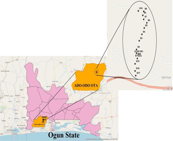 Computation Of Human Health Risk In Surface Water In Ado Odo Ota Ogun State Nigeria Sciencedirect