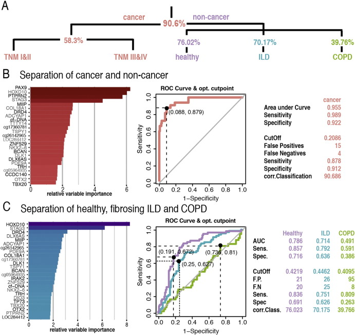 Diagnostic Performance Of Plasma Dna Methylation Profiles In Lung
