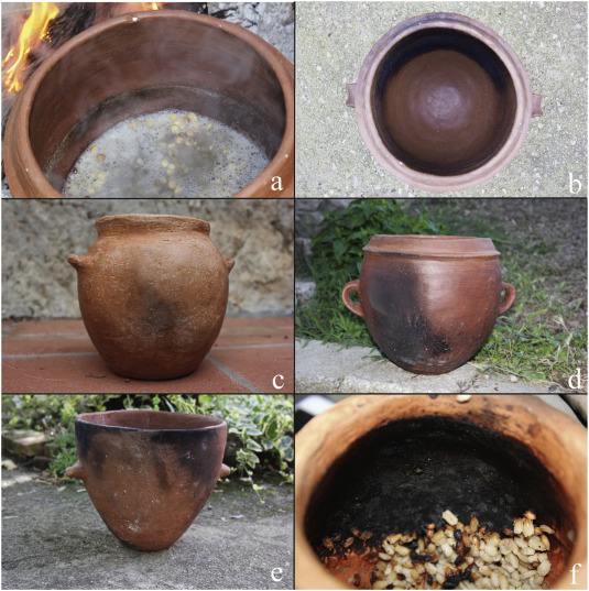 Cooking traces on Copper Age pottery from central Italy: An