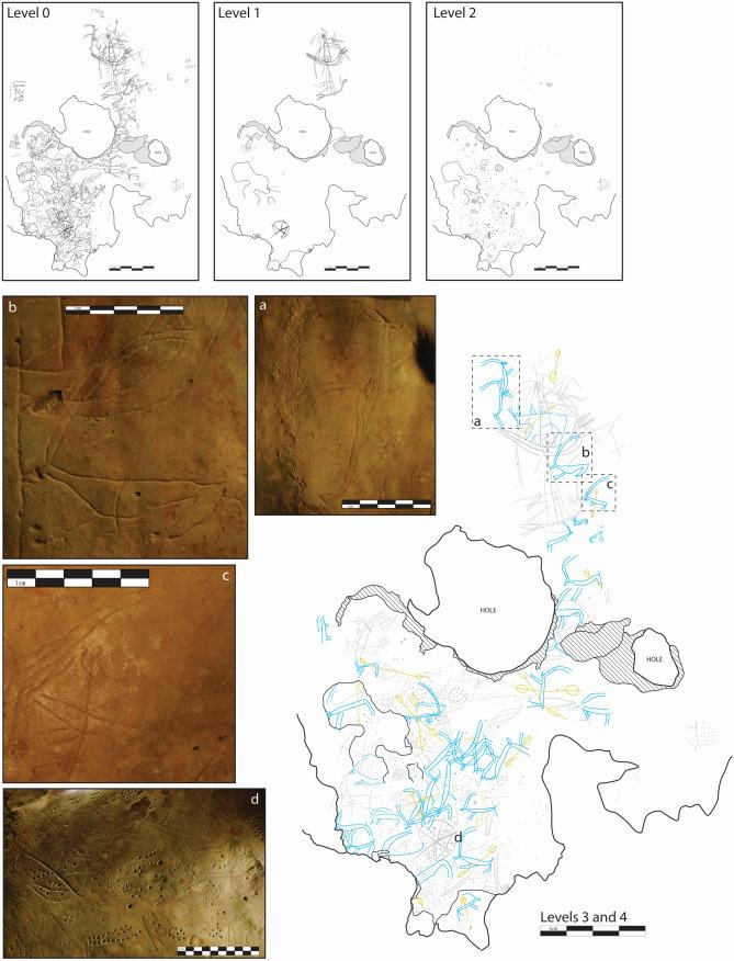 Petroglifos de la Cueva de Asphendou