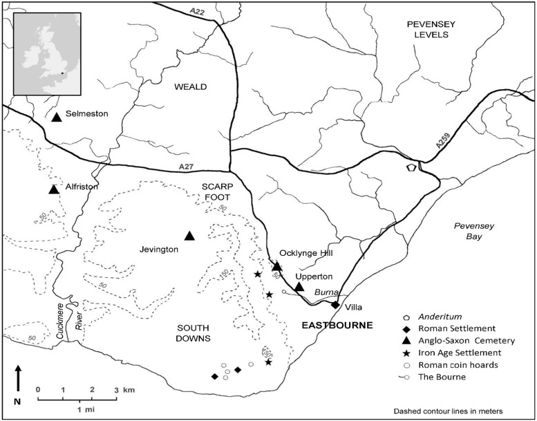 Isotopic analysis of burials from the early Anglo-Saxon cemetery at  Eastbourne, Sussex, U.K. - ScienceDirect