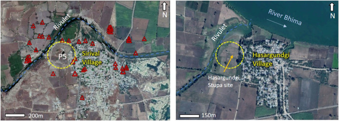 Remote sensing investigation of the Buddhist archaeological