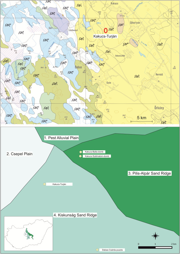 The Site Mapping Of Kakucs Turjan By The Means Of Horizontal And