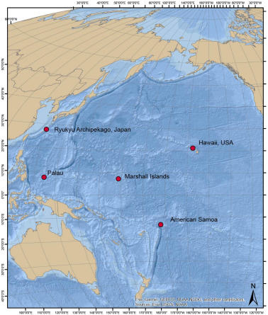 Ocean acidification impacts in select Pacific Basin coral