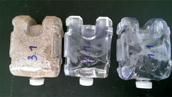 Experimental development of a plastic bottle usable as a