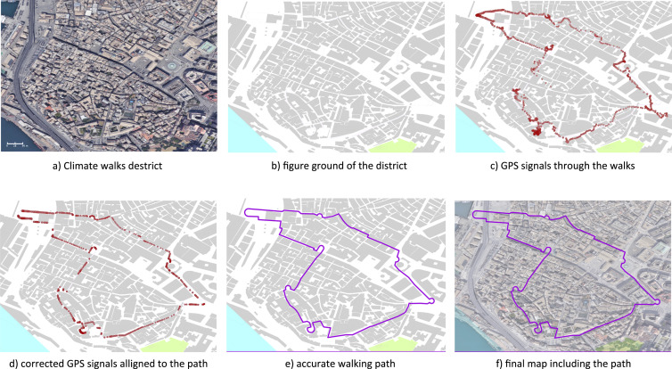 Sensing transient outdoor comfort: A georeferenced method to