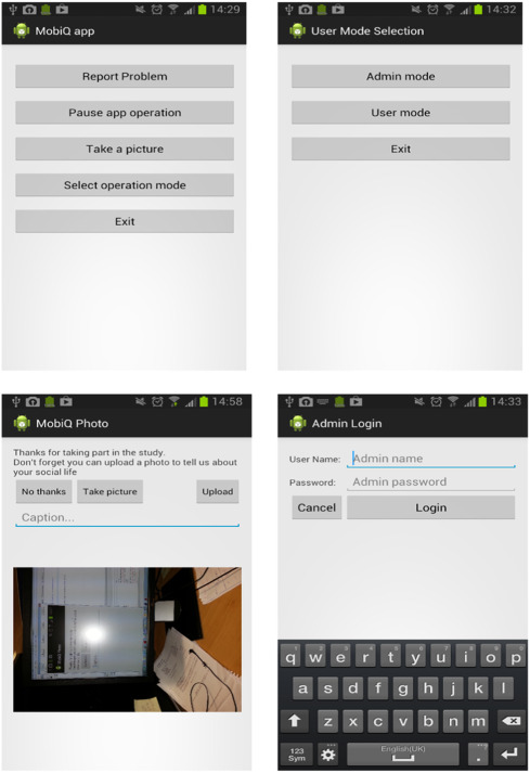 MobiQ: A modular Android application for collecting social