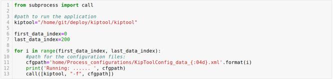 KipTool, a general purpose processing tool for neutron imaging data