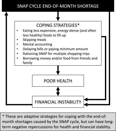 Food and financial coping strategies during the monthly Supplemental