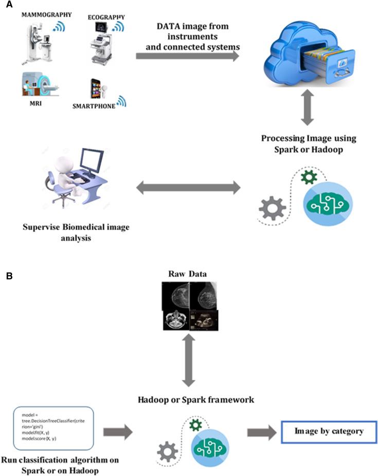 An optimal big data workflow for biomedical image analysis