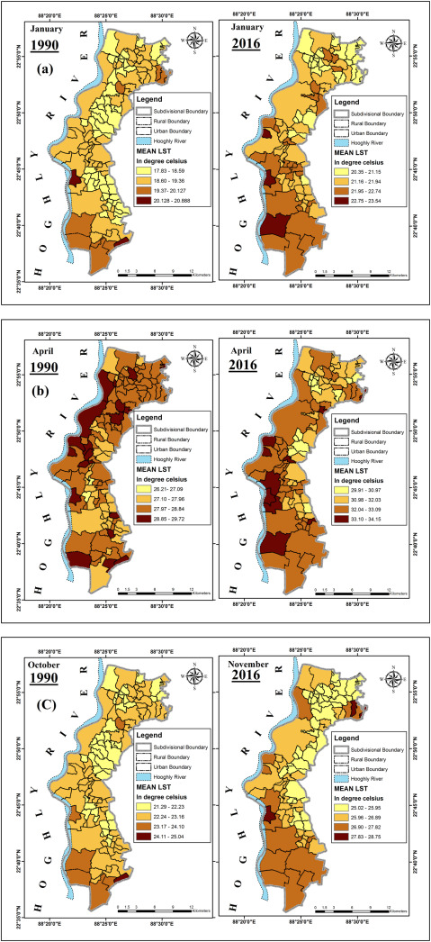 Land use-land cover (LULC) transformation and its relation with ...