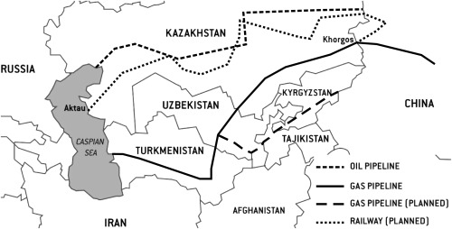 Central Asia — twenty-five years after the breakup of the