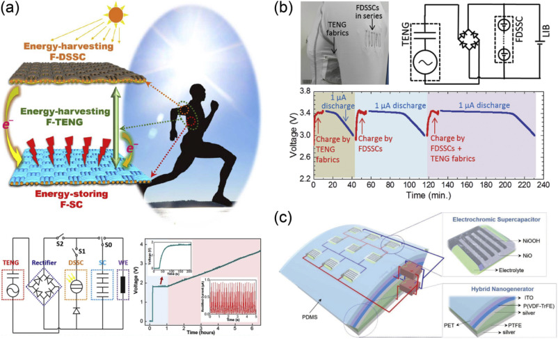 Recent advances in triboelectric nanogenerator based self