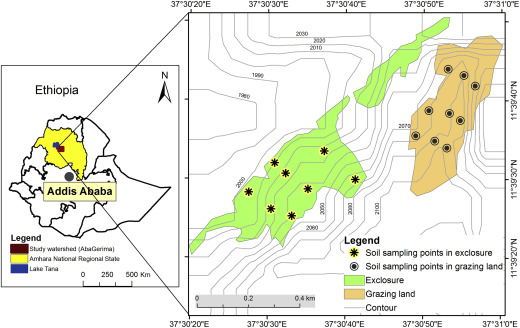 Restoration of degraded landscapes for ecosystem services in North