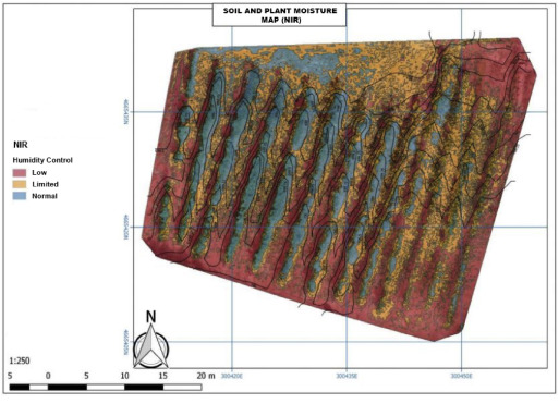 Mapping multispectral Digital Images using a Cloud Computing