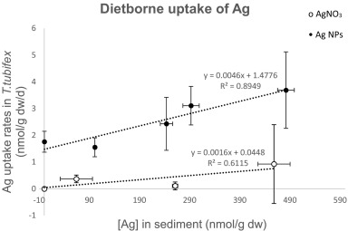 A biodynamic understanding of dietborne and waterborne Ag