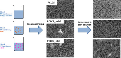 Incorporation of bioactive glass nanoparticles in