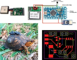 An open-source hardware GPS data logger for wildlife radio-telemetry