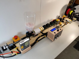 RepRapable Recyclebot: Open source 3-D printable extruder