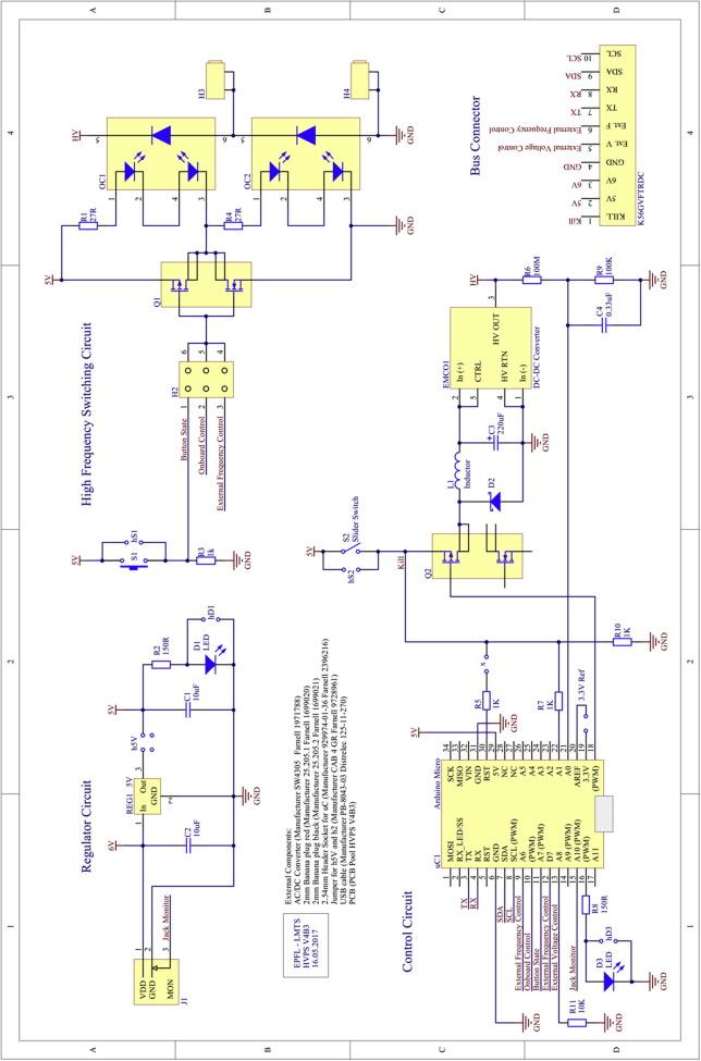 Peta-pico-Voltron: An open-source high voltage power supply
