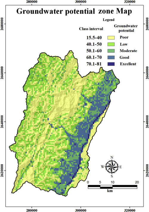 Mapping Groundwater Recharge Potential Zone Using A GIS Approach - Groundwater prospect map of egypt's qena valley