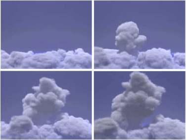Visual simulation of clouds - ScienceDirect