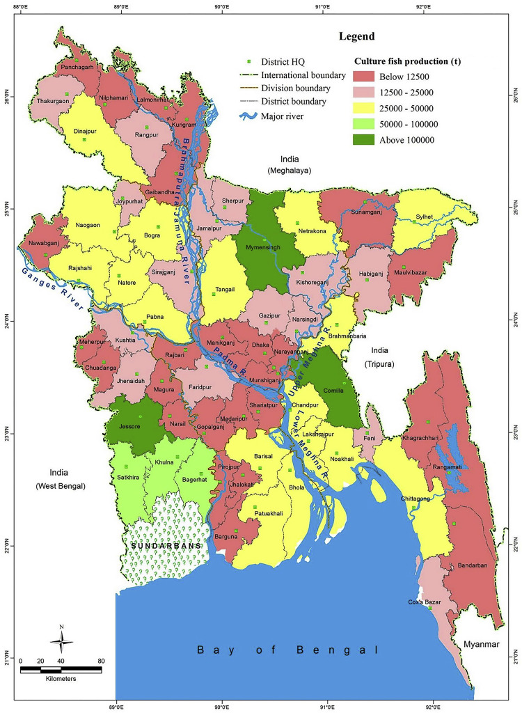 Fisheries resources of Bangladesh: Present status and future