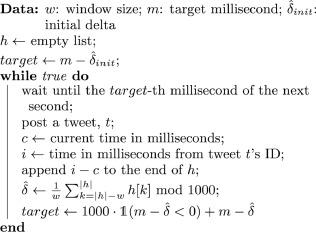 Wait c milliseconds