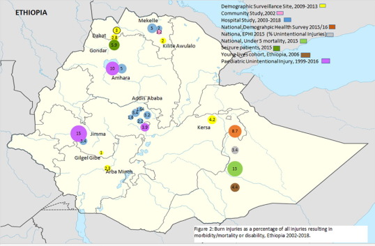Review of the epidemiology of burn injuries in Ethiopia