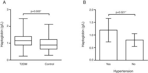 polimorfismo del gen haptoglobina en diabetes