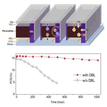 Efficient Perovskite Solar Cell Modules with High Stability