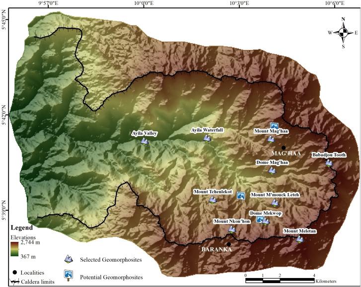 La County Essor Map on
