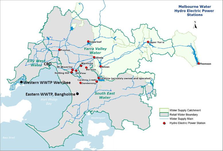The water energy nexus in Australia – The outcome of two
